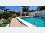 Fabulous villa for rent in Anfa Supérieur. 8 Surgery. Property with swimming pool, Integrated air conditioning.