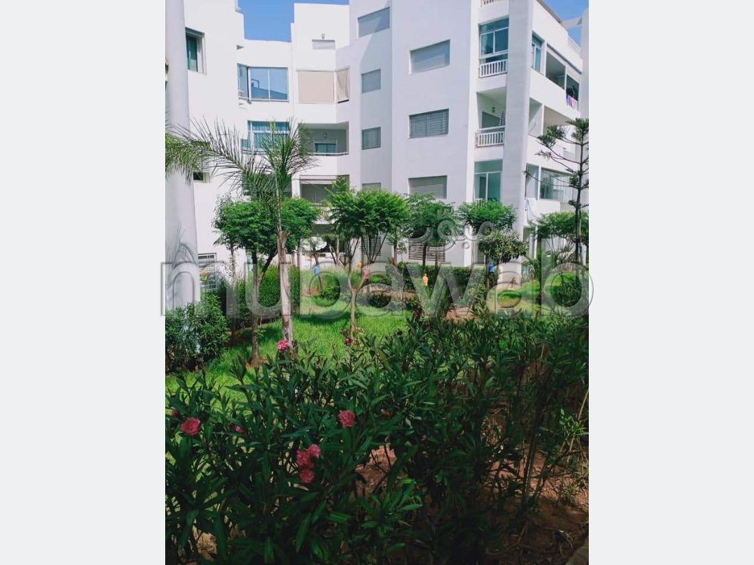 شقة للكراء بلاسييسطا. المساحة الكلية 56 م². مفروشة.