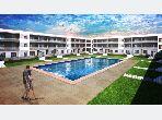 شقة رائعة للبيع بدار بوعزة. 2 غرف جميلة. صالون مغربي نموذجي ، إقامة آمنة.