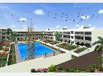 شقة رائعة للبيع بدار بوعزة. 4 قطع كبيرة. شرفة جميلة وحديقة.