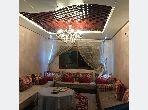 Se alquila este piso en Hay Houda. Gran superficie 72 m². Amueblado.
