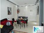 شقة رائعة للإيجار بحـي الشاطئ. المساحة الكلية 58 م². مفروشة.