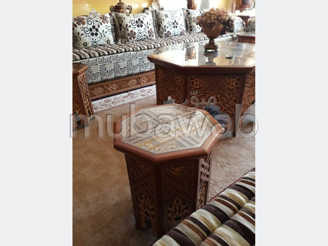 Apartment for rent in Msala. Surface area 130 m². New furniture