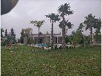 Villa de 3800 m² T. F clé au main