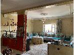 A louer sans fournitures 3 chambres un salon