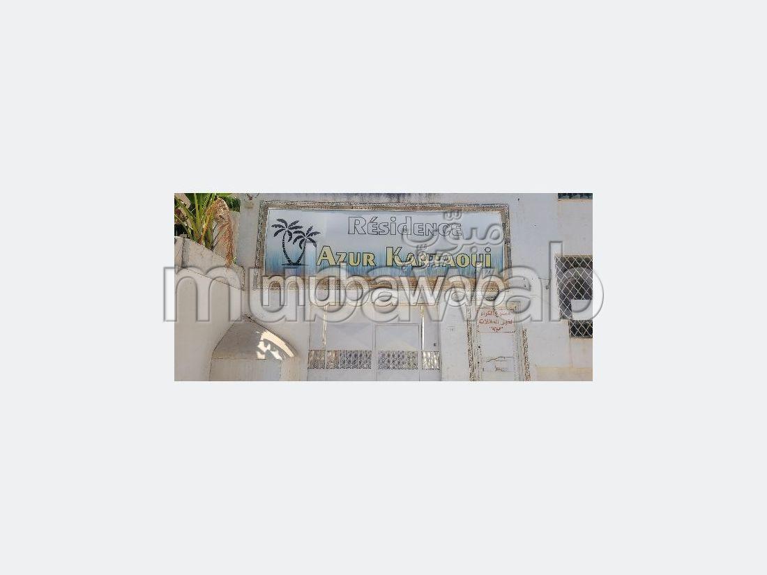 Appartement en vente à Hammam Sousse. 2 belles chambres. Climatisation et piscine.