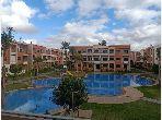 Alquila este piso en Route d'Agadir - Essaouira. Pequeña superficie 78 m². Salón marroquí tradicional, residencia segura.
