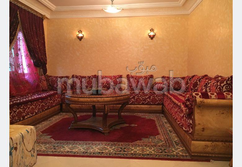 شقق للكراء ب بوخالف. المساحة الكلية 70 م². صالون مغربي تقليدي ، إقامة آمنة.