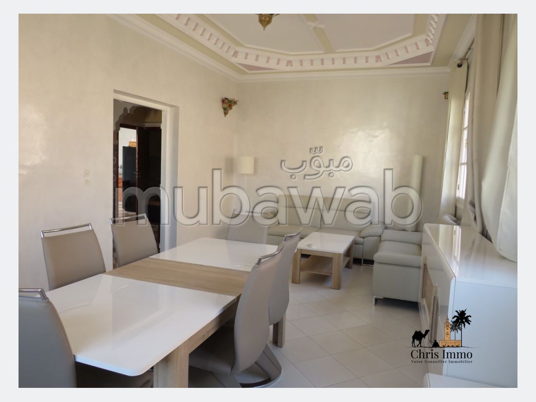 Apartment for rent in Hay Yasmina. 6 large rooms. Cellar.