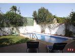High quality villa rental in Malabata. Small area 240 m².