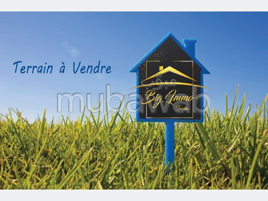 Terrain R4 à vendre à khzema ouest