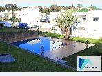 Appartement à TANGER dans Résidence avec piscine