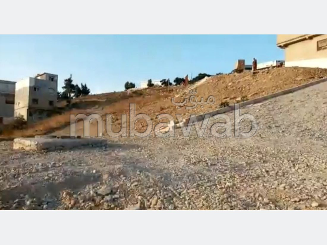 Land for purchase in Zone Industrielle Mghogha. Area of 1518 m².