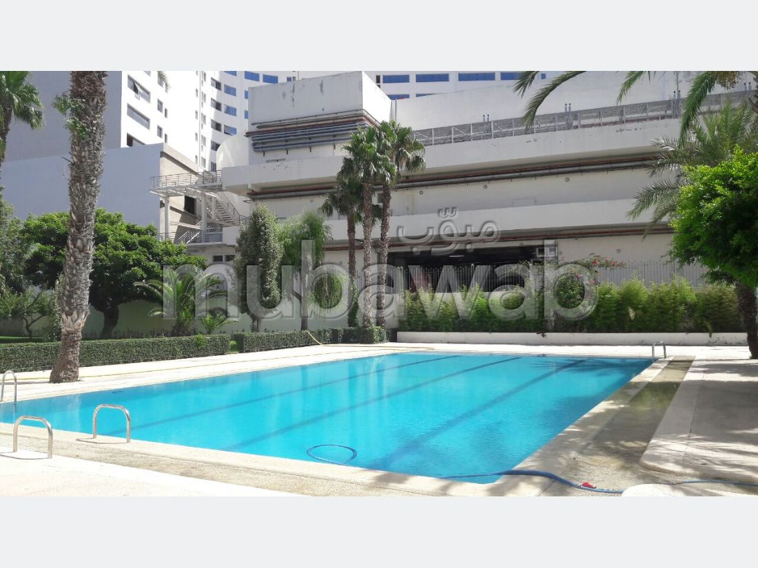 Apartments for rent in Malabata. 1 lovely room. Swimming pool and caretaker service.