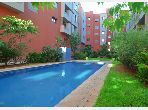 Apartment for rent in Route de Safi. 2 Rooms. Parking spaces and garden.