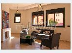 Very nice apartment for rent in Ennakhil (Palmeraie). Total area 64 m².