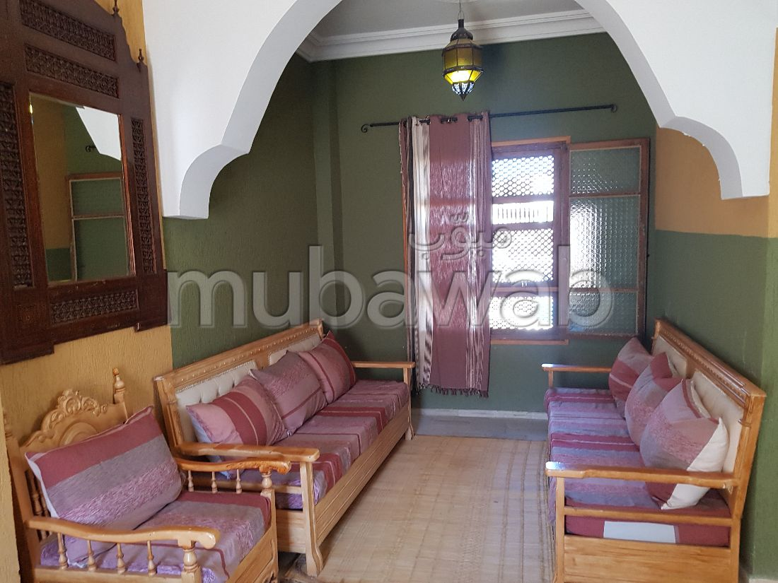 Houses for rent in Bizerte. Area 200 m². Dressing room.
