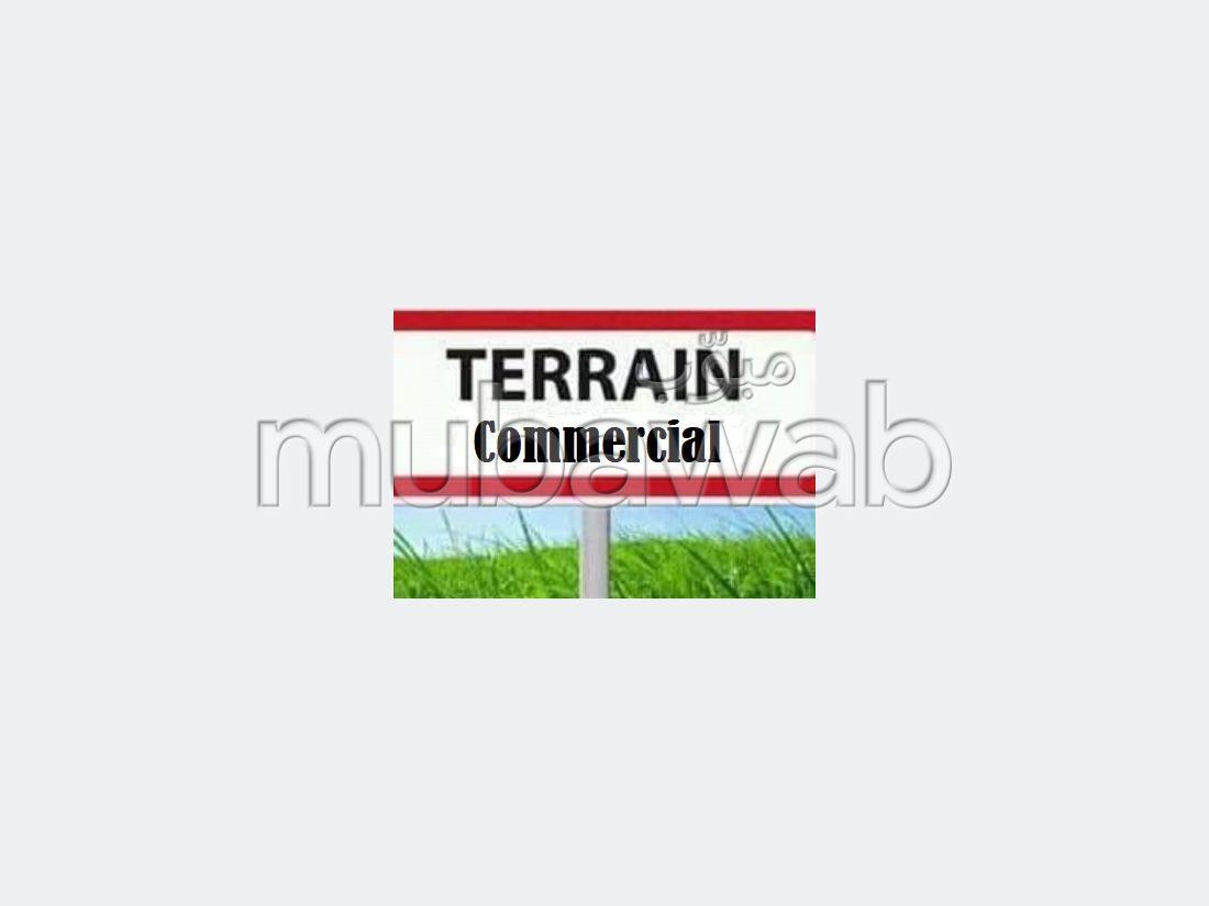 Terrain commercial R10 de 1500m² à sahloul