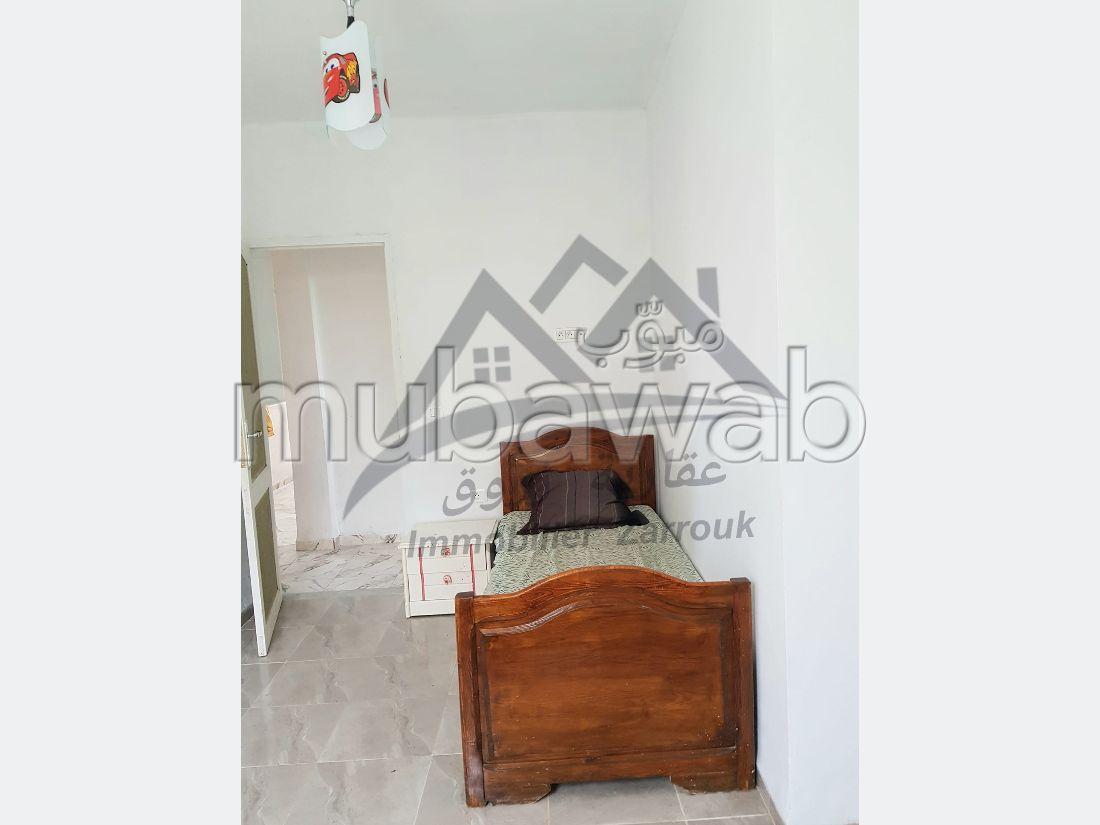 Étage de villa meublé à bizerte corniche