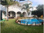 Villa de luxe à louer à Oasis. 7 grandes pièces. Cheminée et climatisation