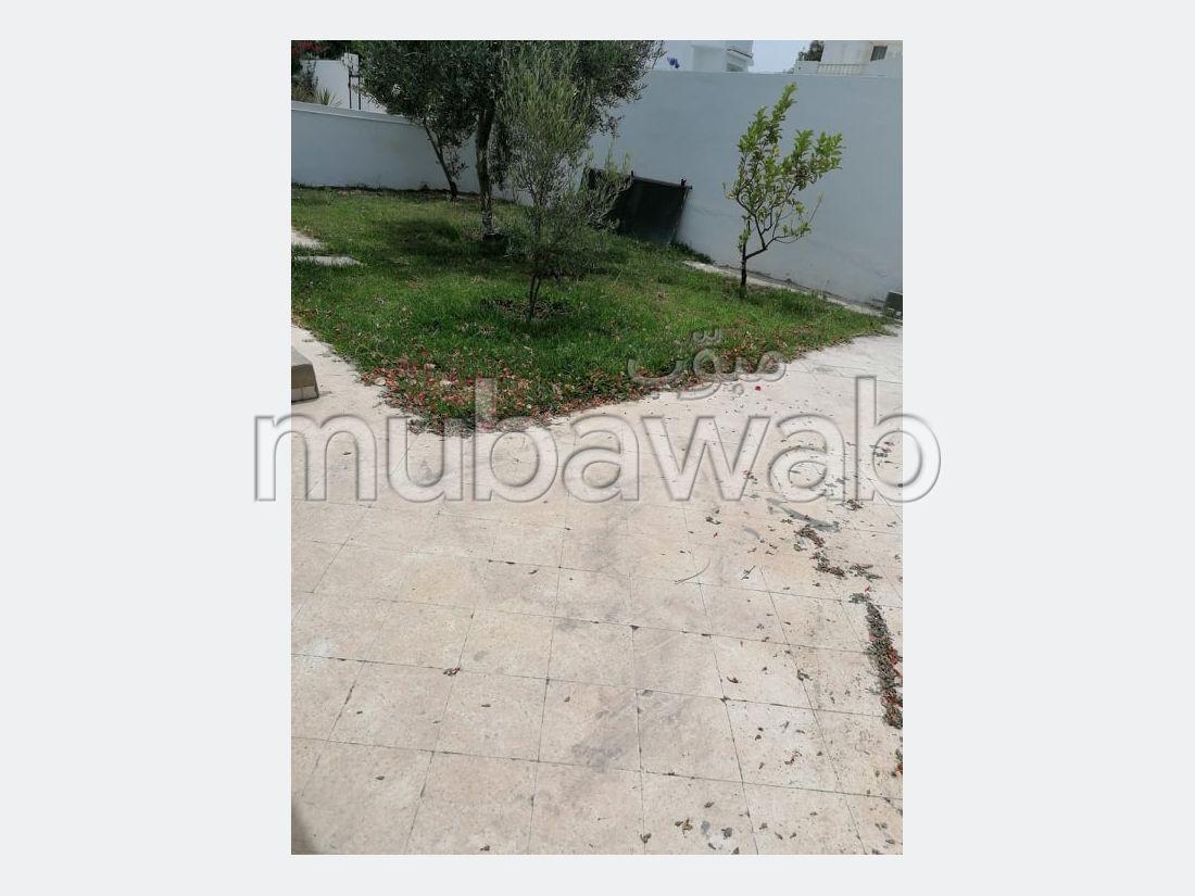 Louer un réez de jardin à Kantaoui Sousse