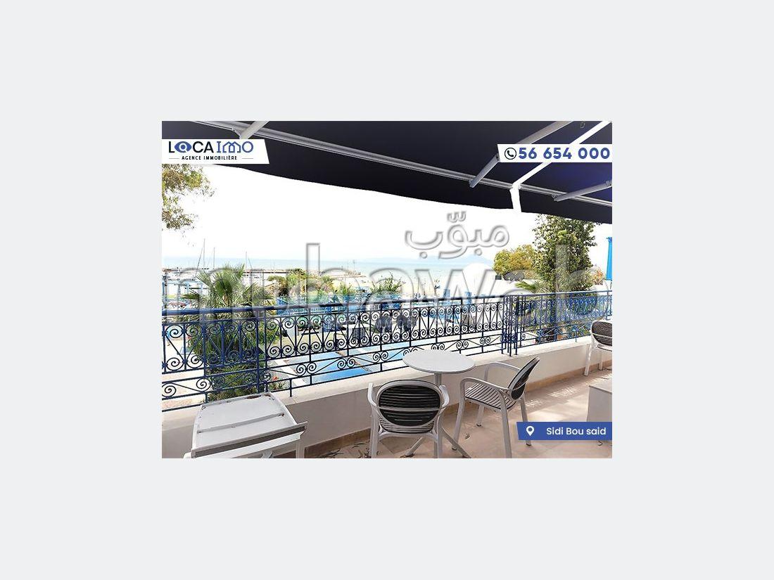 A Louer Magnifique Duplex S3 Sidi Bou Said