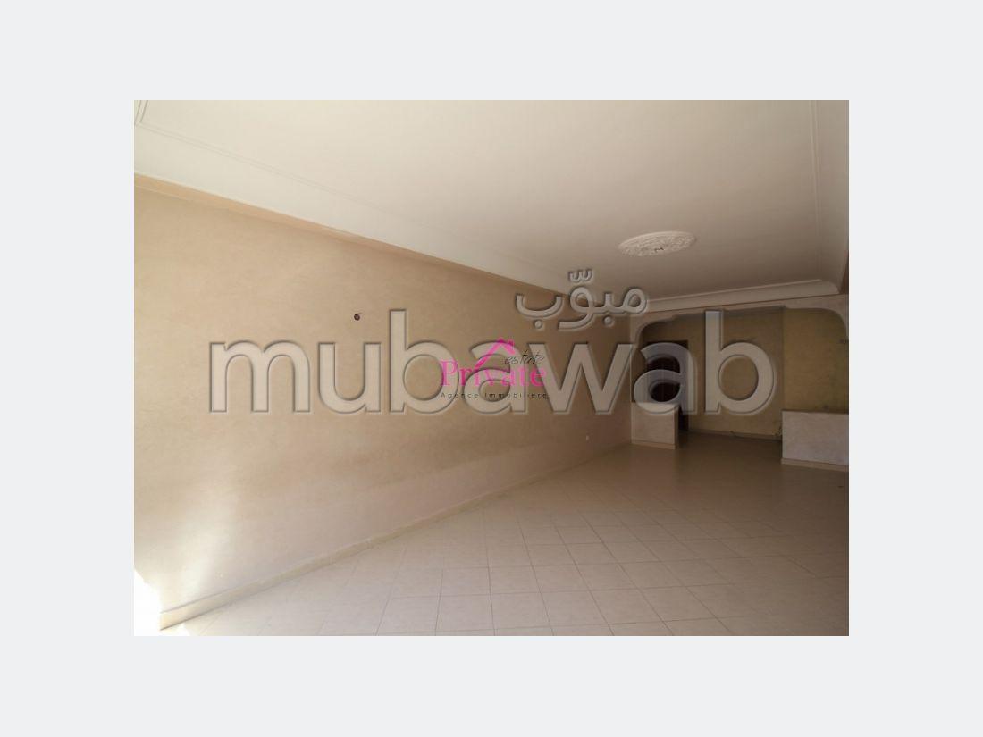 Location Appartement 126 m² QUARTIER HÔPITAL ESPAGNOL Tanger