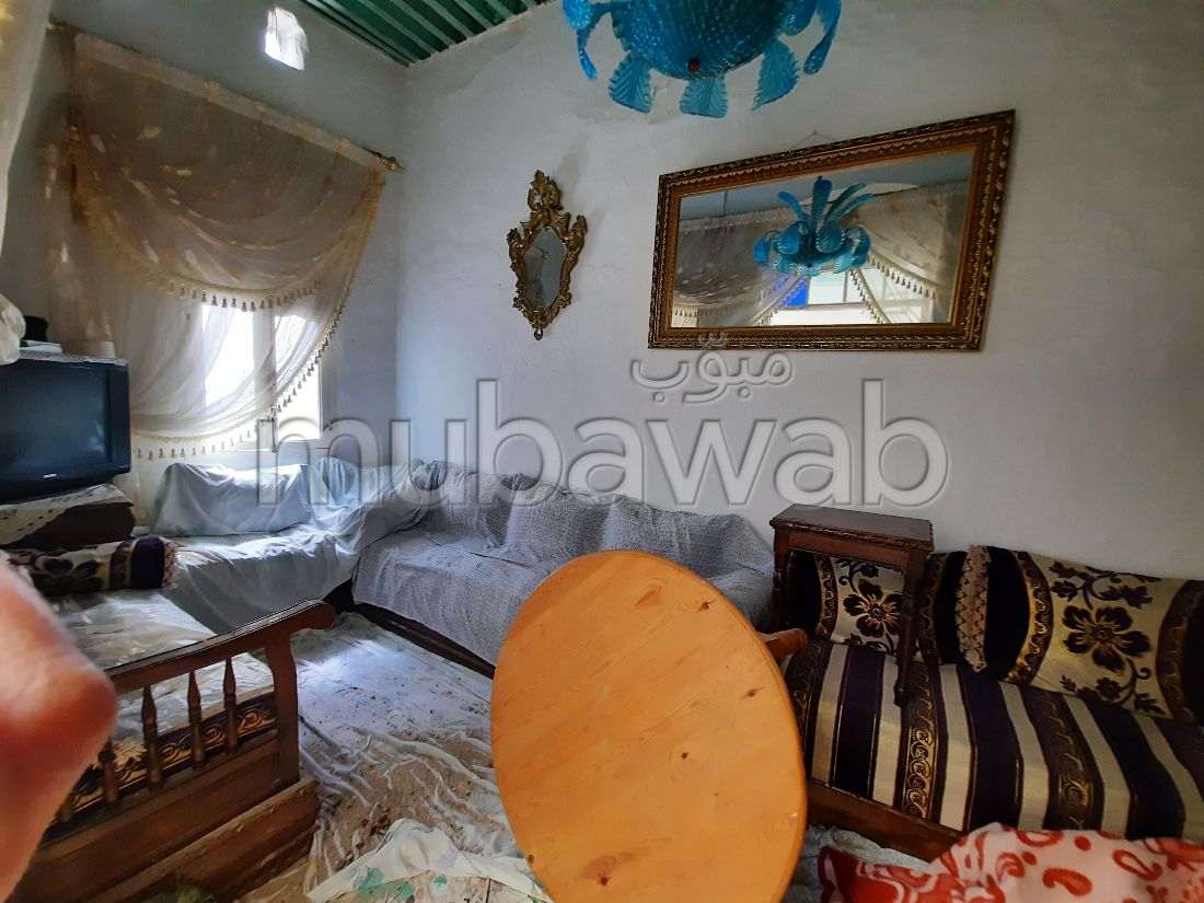 Beautiful house for sale in Médina. 3 rooms.