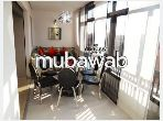 Apartment for rent in Guéliz. 3 Surgery. Furnishings.