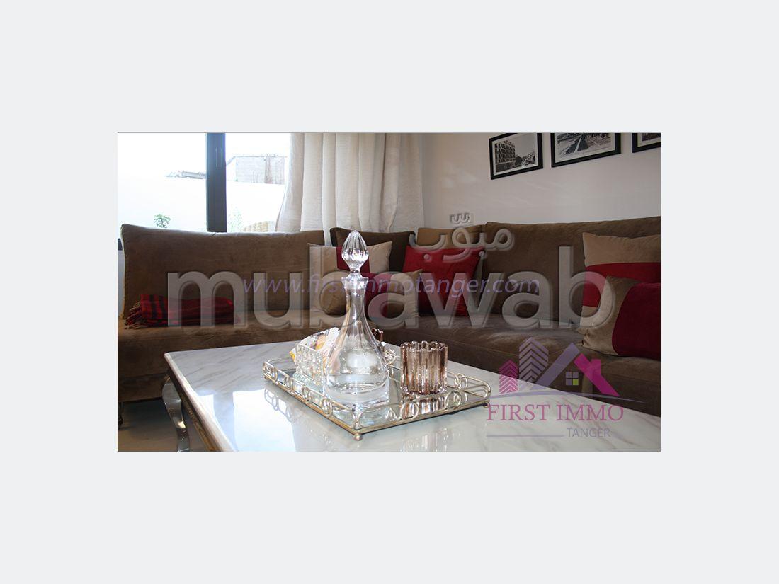 Apartments for rent in Malabata. 2 beautiful rooms. Car park.