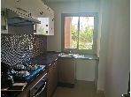 Flat for rent in Agdal. Dimension 78 m². Air conditioning and swimming pool.