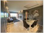 شقة رائعة للبيع بأكدال. 2 غرف ممتازة. خدمة الكونسياج و المدفأة.