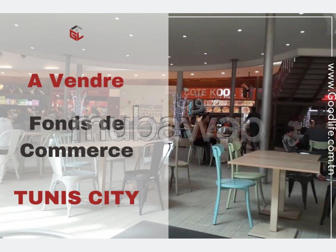A Vendre Fonds de commerce à Tunis City
