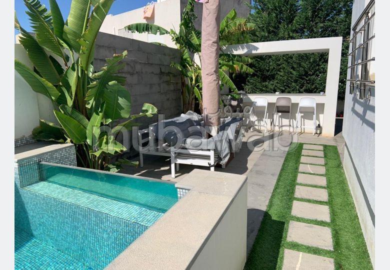 Vente appartement jardin de Carthage