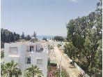 Appartement en S2, Vue sur mer, à La Corniche d'Hammamet