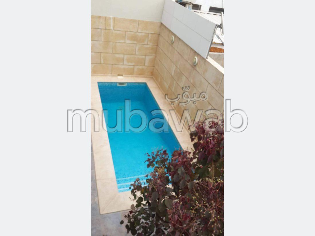 Location d'un triplex avec piscine Marsa Ville