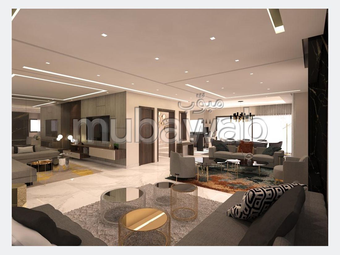 منزل فخم للبيع ب السانية. المساحة الكلية 400 م².