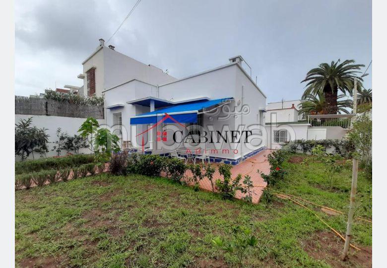 Villa plain pied en plein centre de Rabat