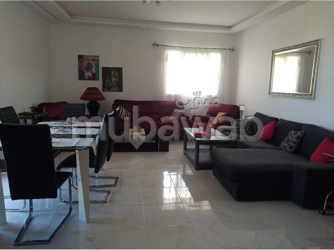 شقة للكراء ب مسنانة. المساحة الكلية 116 م². مفروشة.