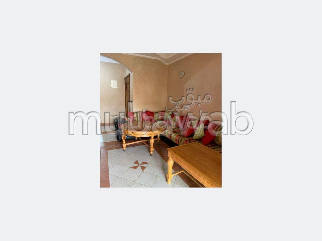Appartement de vacances à louer à Reco Flores Mansouria. Surface de 70 m². Bien meublé