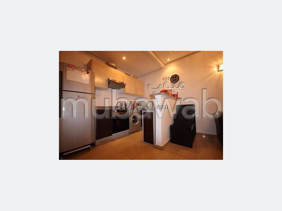 Location d'un appartement à Guéliz. 2 pièces confortables. Bien meublé.