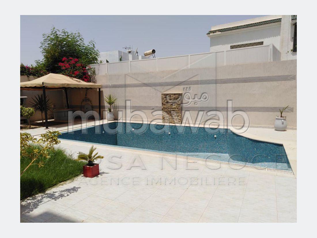 A Louer un appartement S3 meublé avec piscine