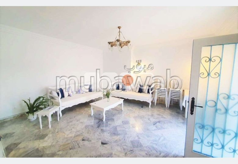 كراء منزل ب سيدي بو سعيد. المساحة 150 م². مفروشة.