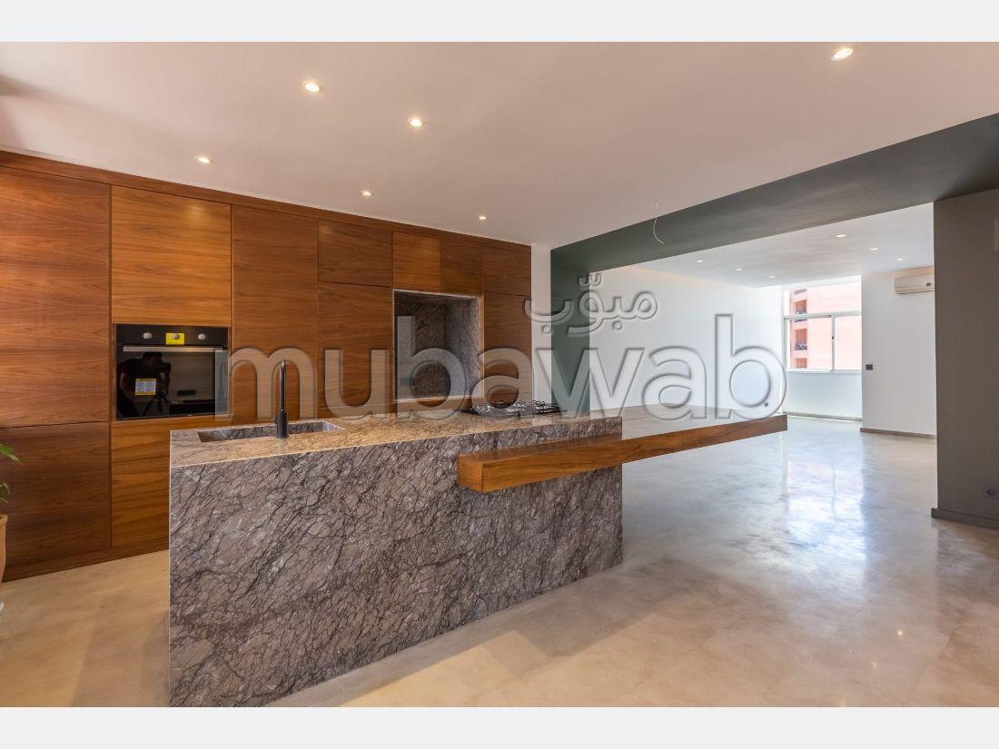 Precioso piso en alquiler en Majorelle. 2 Habitación pequeña. Servicio de conserjería, aire condicionado.