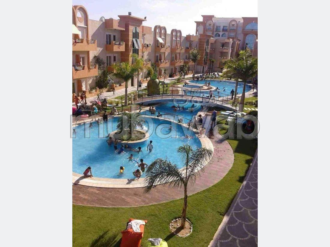Appartement S1 résidence les dunes avec piscines