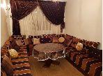 شقة رائعة للإيجار بالحي المحمدي. 2 غرف رائعة. مفروشة.