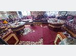 Apartment to purchase in Oulad Wjih. Small area 150 m². Living room with Moroccan decor.