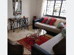 Bel appartement meublè avec terrasse à agdal rabat
