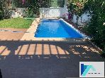 High quality villa rental in Malabata. 5 Cabinet. Furnished.