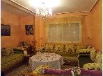 Bonito piso en venta en Oued Fes. 2 Suite parental. Sala de estar tradicional marroquí, barrio seguro.